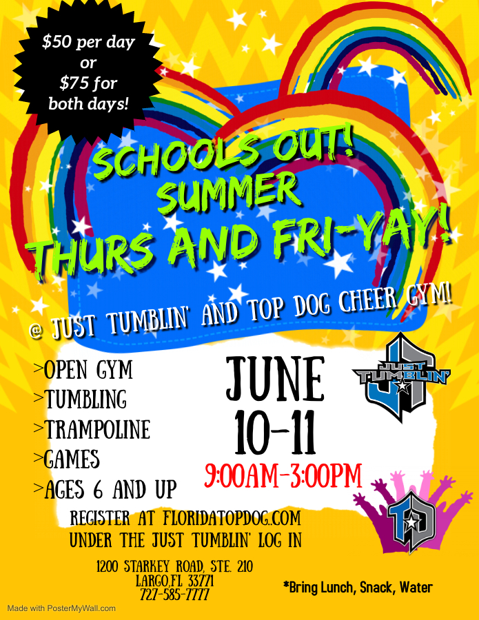 School's Out Summer Fun-YAY!