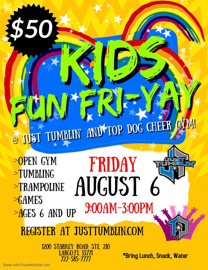 End of the Summer Fun Fri-Yay!